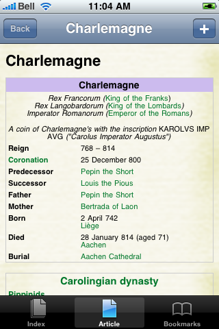 Charlemagne Study Guide screenshot #1