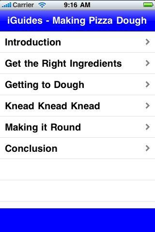 iGuides - Making Pizza Dough screenshot #2