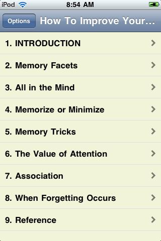 Improve Your Memory Now! screenshot #2