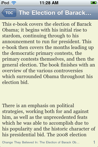 Change They Believed In – The Election of Barack Obama screenshot #3