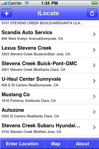 iLocate - Airport Shuttles screenshot #1