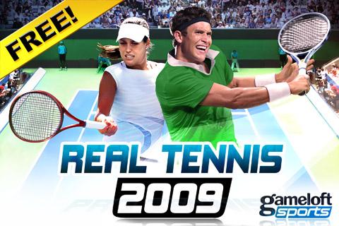 Real Tennis 2009 Free screenshot 2