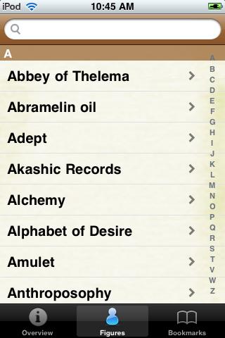 Magical Terms Pocket Book screenshot #2