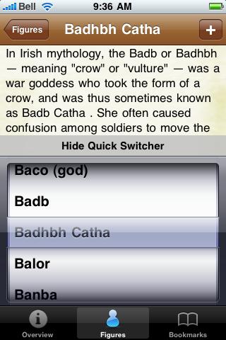Celtic Mythology screenshot #2