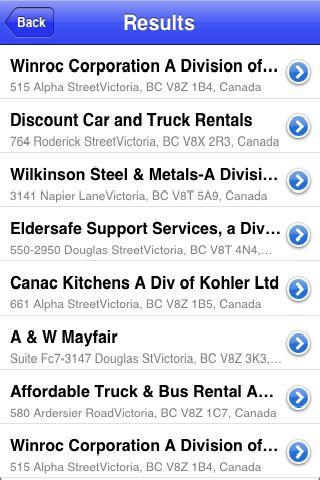 iLocate - Motels screenshot #4