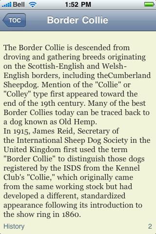 The Border Collie Book screenshot #2