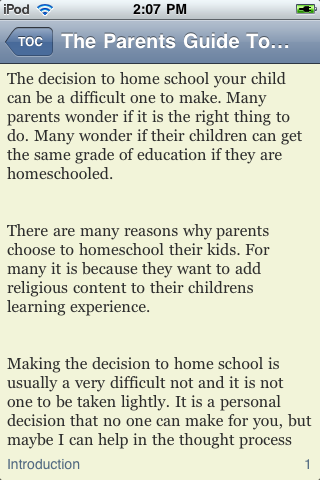 The Parents' Guide To Successful Homeschooling screenshot #2