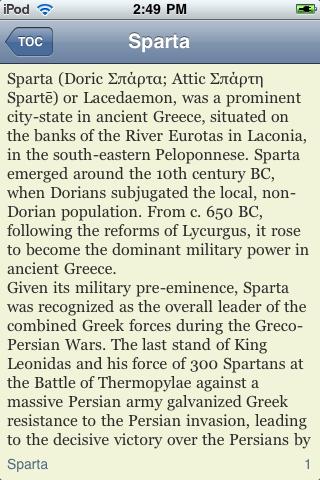 The History of Sparta screenshot #2