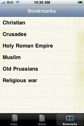 The Crusades Study Guide screenshot #2
