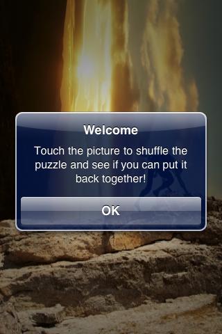Rock Climbing Slide Puzzle screenshot #2