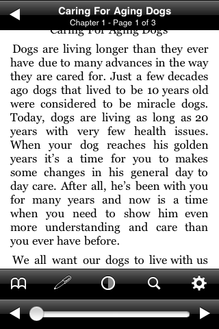 Caring For Aging Dogs screenshot #2