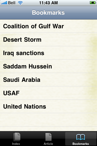 Desert Storm Study Guide screenshot #2