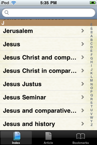 Jesus Study Guide screenshot #2
