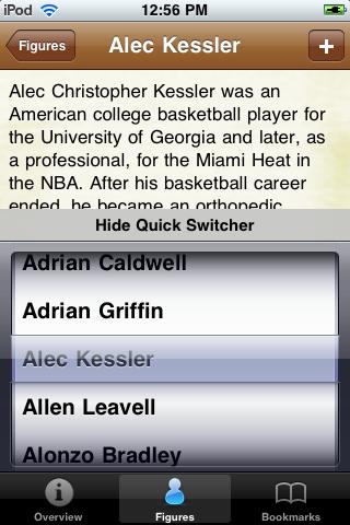 All Time Houston Basketball Roster screenshot #3