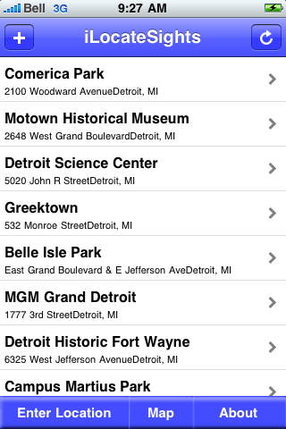 Detroit, Michigan Sights screenshot #2