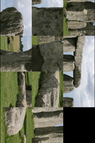 Stonehenge Slide Puzzle screenshot #3