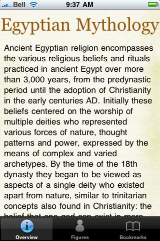 Egyptian Mythology Lite screenshot #5