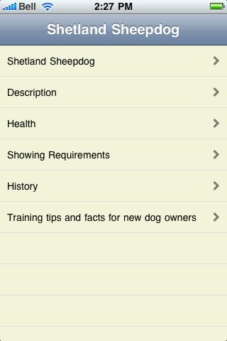 The Shetland Sheepdog Terrier Book screenshot #1
