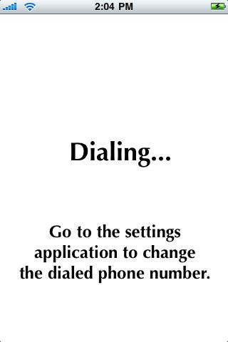Dial My Nanny screenshot #1