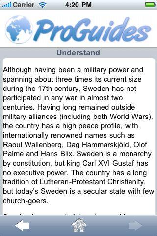 ProGuides - Sweden screenshot #2