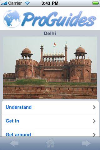 ProGuides - Delhi screenshot #1