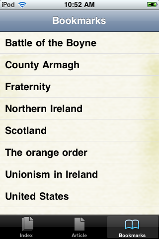 The Orange Order Study Guide screenshot #3