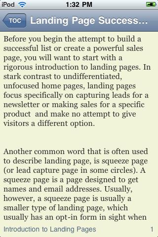 Landing Page Success Guide screenshot #3