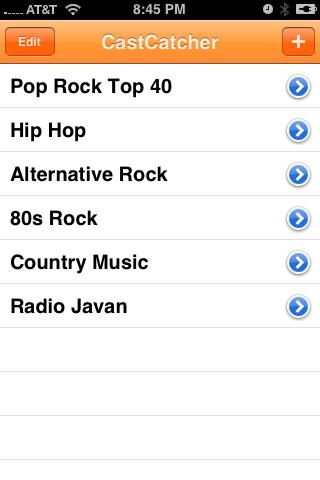 CastCatcher Radio screenshot 4