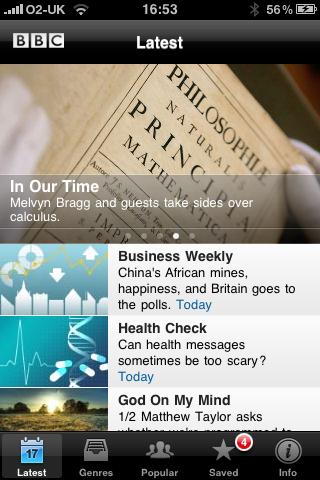 BBC Listener screenshot #1