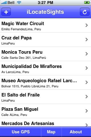 Lima Sights screenshot #2
