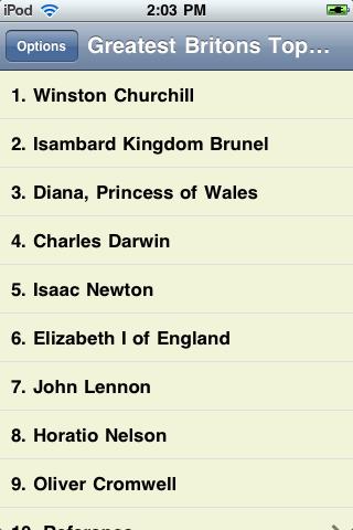 The Greatest Britons screenshot #1