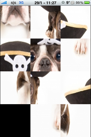Pirate Dog Slide Puzzle screenshot #2