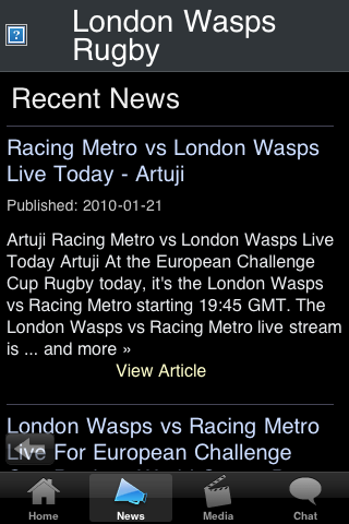 Rugby Fans - London WSP screenshot #3