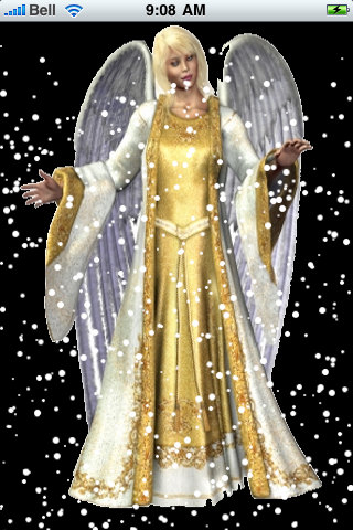 Heavenly Angel Snow Globe screenshot #2