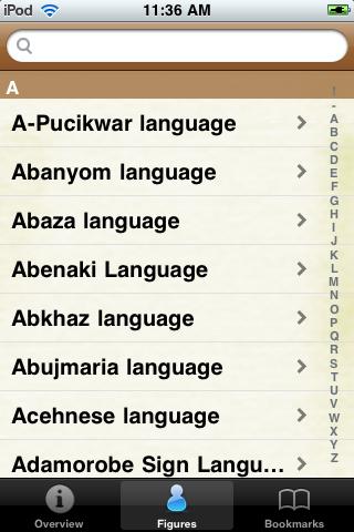 Languages of the World Pocket Book screenshot #2