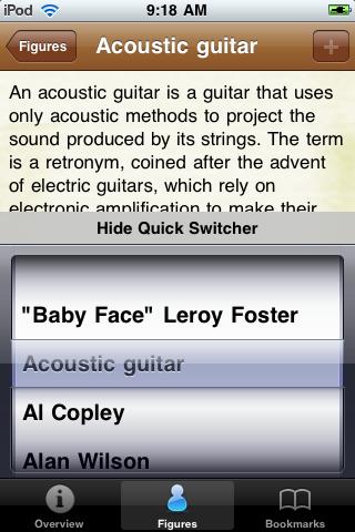 Blues Musicians Pocket Book screenshot #4