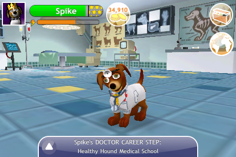Touch Pets Dogs screenshot 1