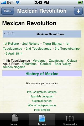 Mexican Revolution Study Guide screenshot #1