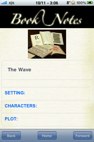 Book Notes - The Wave screenshot #3