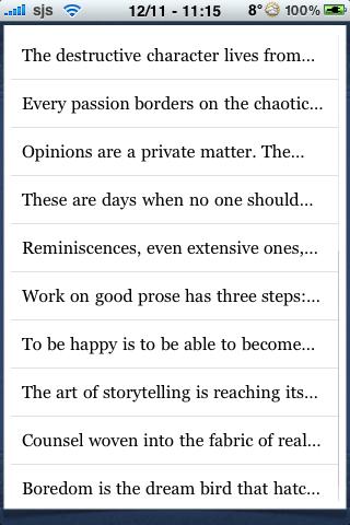 Walter Benjamin Quotes screenshot #3