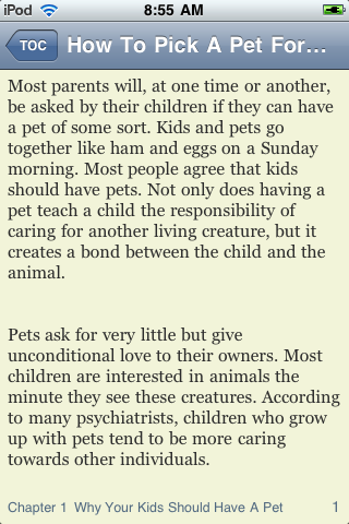 How To Pick A Pet For Your Child screenshot #3