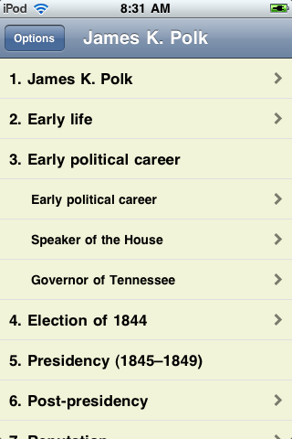 James K. Polk - Just the Facts image #1