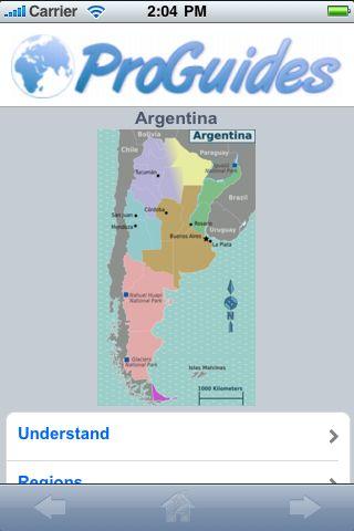 ProGuides - Argentina screenshot #1