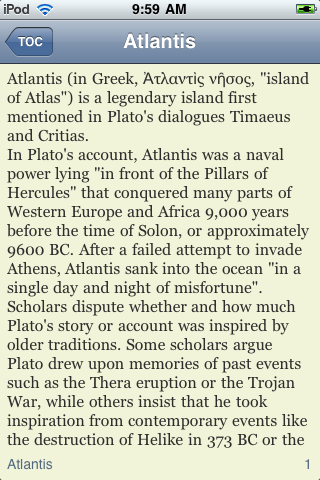 The Lost City of Atlantis screenshot #3