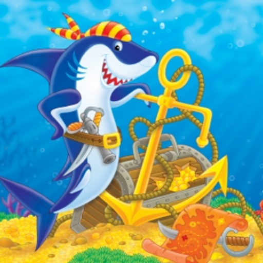 Pirate Shark Slide Puzzle