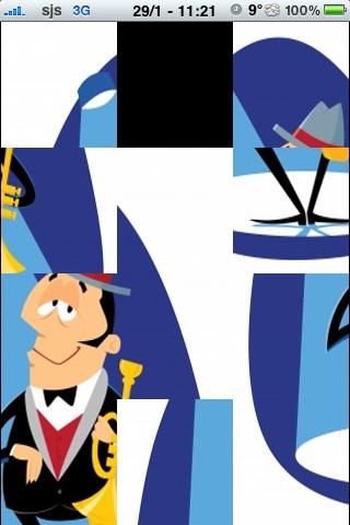 Jazz Musician Slide Puzzle screenshot #2