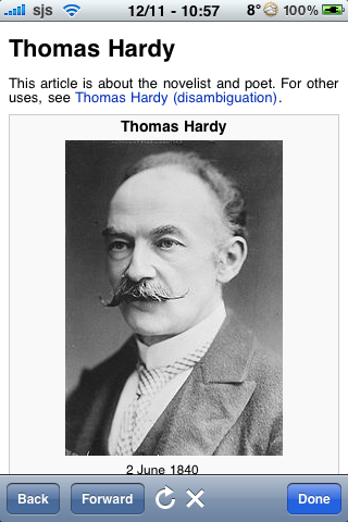 Thomas Hardy Quotes screenshot #1