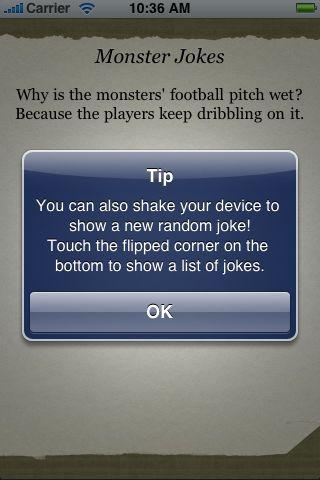 Monster Jokes screenshot #2