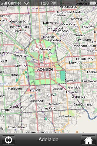iMapsPro - Adelaide screenshot #1