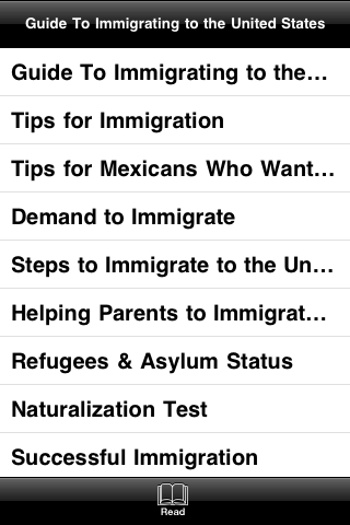 Guide to Immigrating to the United States screenshot #3